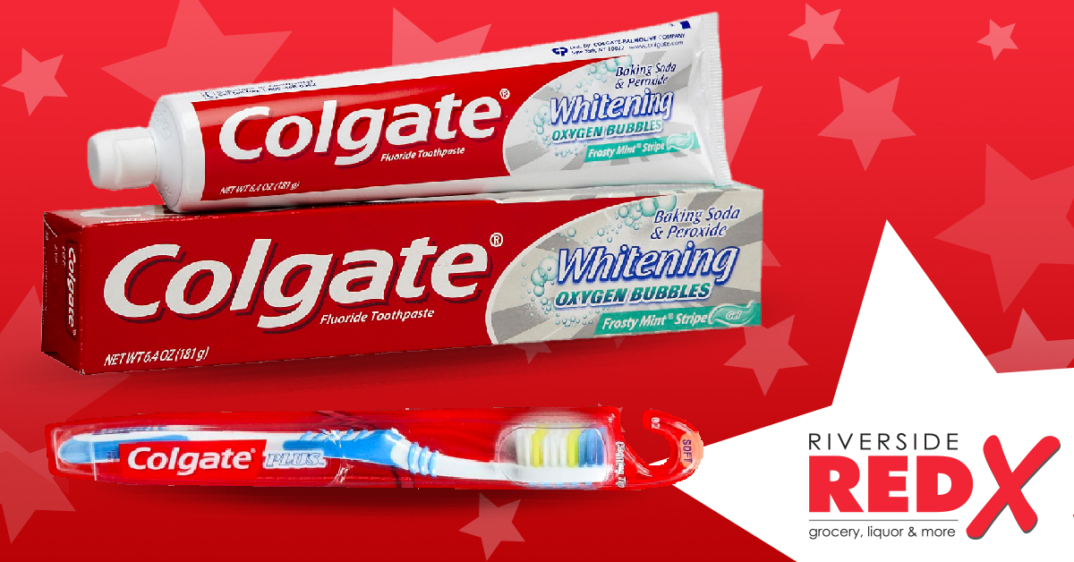 Colgate Toothpaste and Toothbrushes